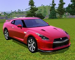 Sims 3 nissan, gtr, car, cars, auto, sport, vehicle