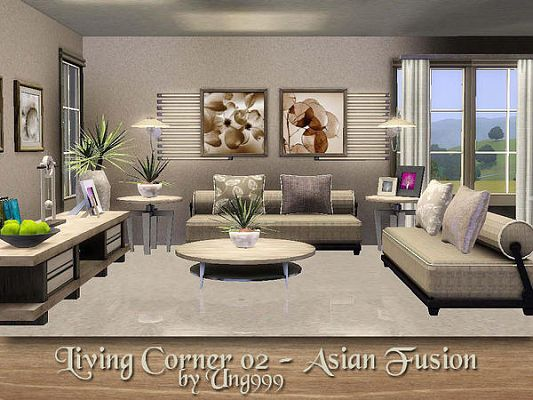 Lovely Sims 3 Living, Livingroom, Set, Furniture Part 11