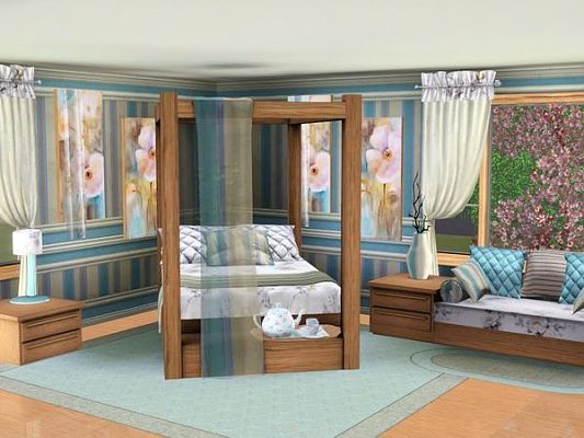Sims 3 bedroom, livingroom, furniture, objects, decor