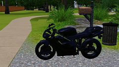 Sims 3 bike, motorbike, vehicle, honda