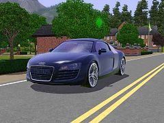 Sims 3 car, vehicle, audi
