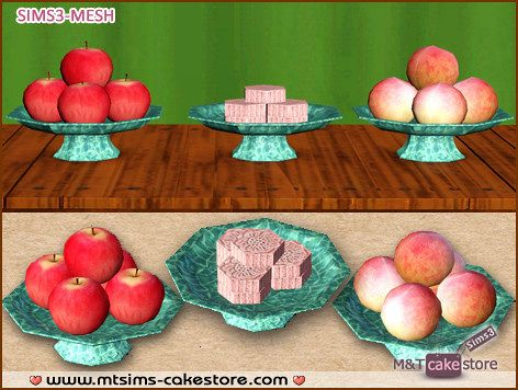 Sims 3 tray, decor, objects