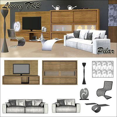 Sims 3 livingroom, furniture, objects, set, decorative, buy, mode
