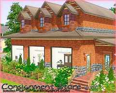Sims 3 store, lot, building