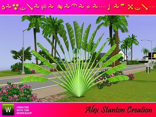 Sims 3 plnt, outdoor, set