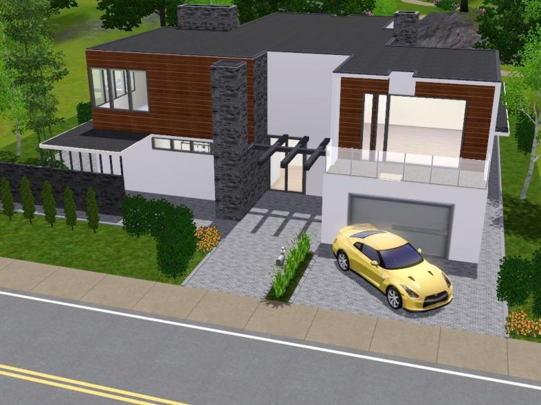 Sims 3 Updates - Sims 3 Modern Houses: Calanque lot available at ...