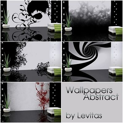 Sims 3 wallpaper, decor, abstract