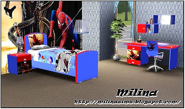 Sims 3 nursery, bedroom, kids, room
