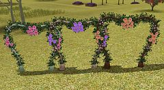 Sims 3 arch, wedding, sims3, flowers