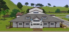 Sims 3 lot, community, equestrian