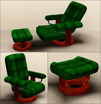 Sims 3 living, livingroom, set, furniture, sofa, chair