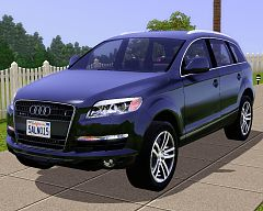 Sims Updates Downloads Objects Cars Page - Audi 3 suv