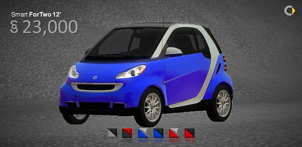 Sims 3 car, auto, vehicle, sims 3, smart