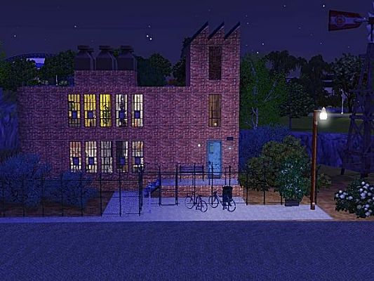 Sims 3 factory, lot, community