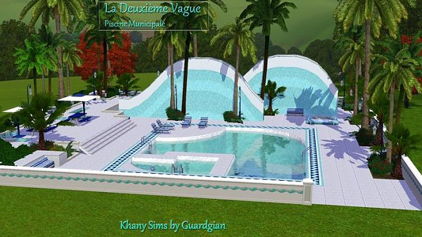 Pin powered by jforum shrek graffiti on pinterest for Pool designs sims 4