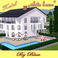 Sims 3 house, lot, architecture, hotel, community