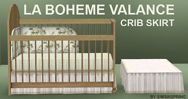 Sims 3 crib, object, decor,