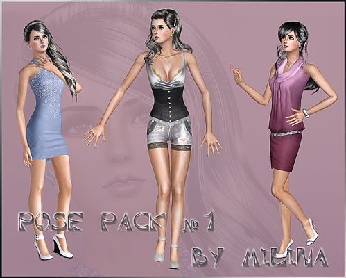 Sims 3 pose, poses, pack, player
