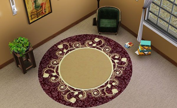 Sims 3 rug, rugs, objects, decor
