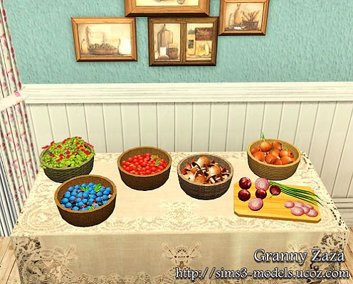 Sims 3 decor, decoration, objects, kitchen