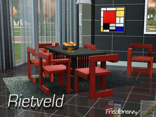 Sims 3 dinning, dinningroom, furniture, set