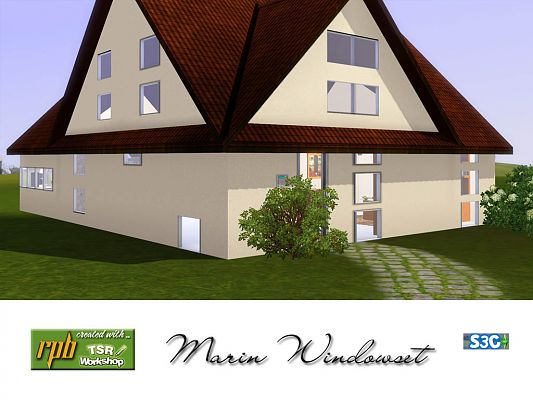 Sims 3 windows, build, objects