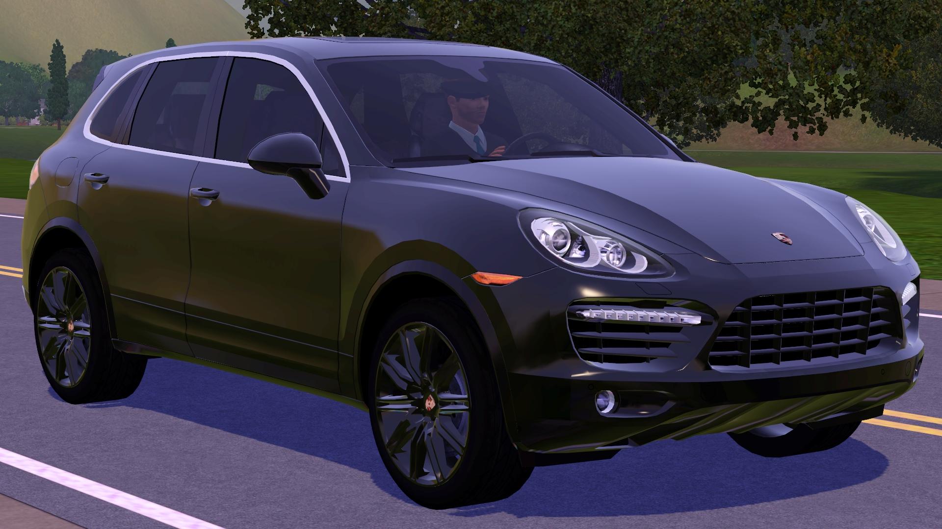 Sims 3 Updates Fresh Prince Creations 2012 Porsche Cayenne