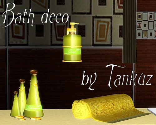 Sims 3 decor, decoration, objects, bath
