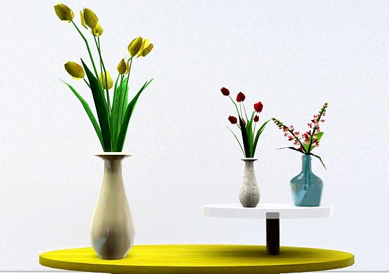 Sims 3 flowers, decor, decoration, objects
