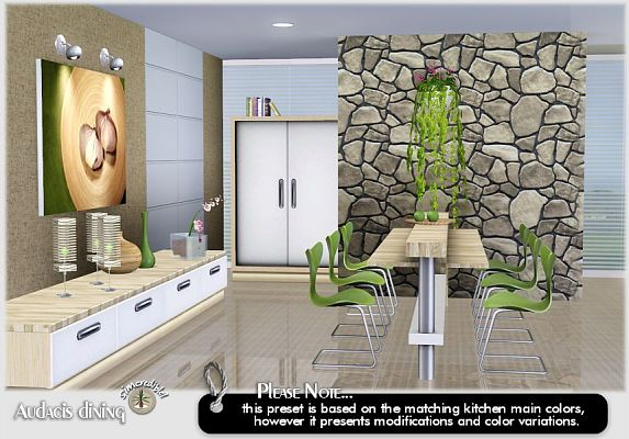70 dining room set sims 3 artvitalexs hoxton dining for Sims 3 dining room ideas