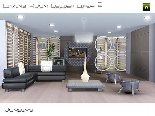 High Quality Sims 3 Living Livingroom Furniture Set Part 12