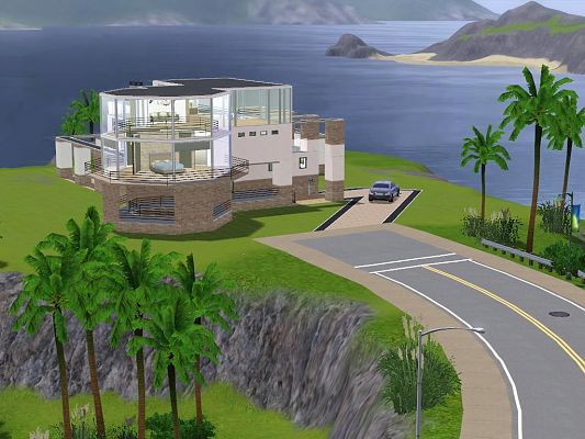 Sims 3 residential, building, house