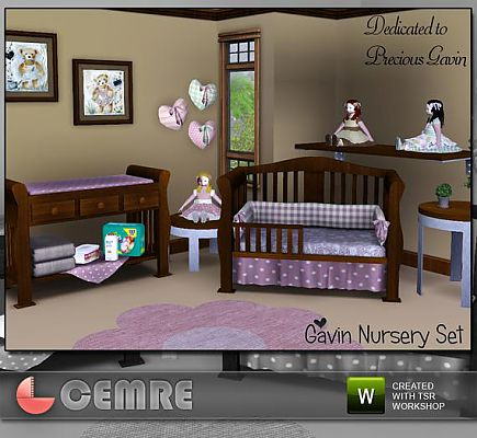 Sims 3 updates the sims resource gavin nursery set by cemre at tsr