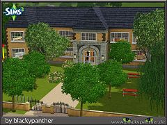 Sims 3 residential, community, lot, school