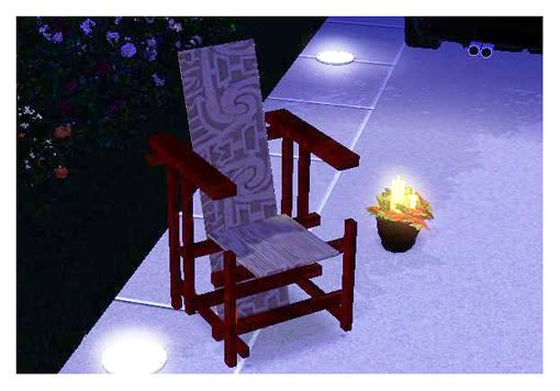 Sims 3 chair, objects