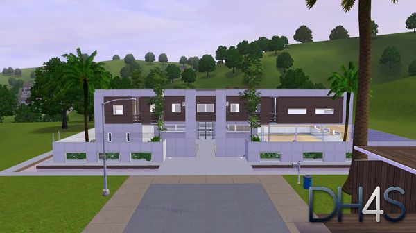 Sims 3 residential, house, lot, building