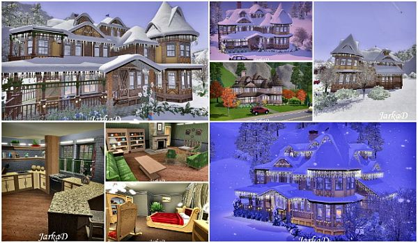 Sims Updates JarkaD Sims Blog Victorian House No By JarkaD - Cool sims 3 houses