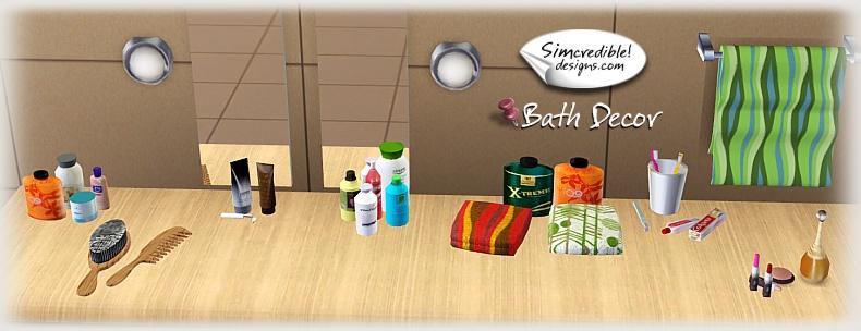 Sims 3 makeup decor mugeek vidalondon for Bathroom decor sims 3