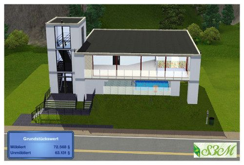 Architecture House Building sims 3 house build | tophatorchids