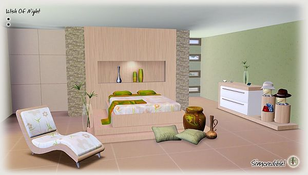 Sims 3 bed  bedroom  furniture  sims  room. Sims 3 Updates   Simcredible Designs  Wish of night bedroom by