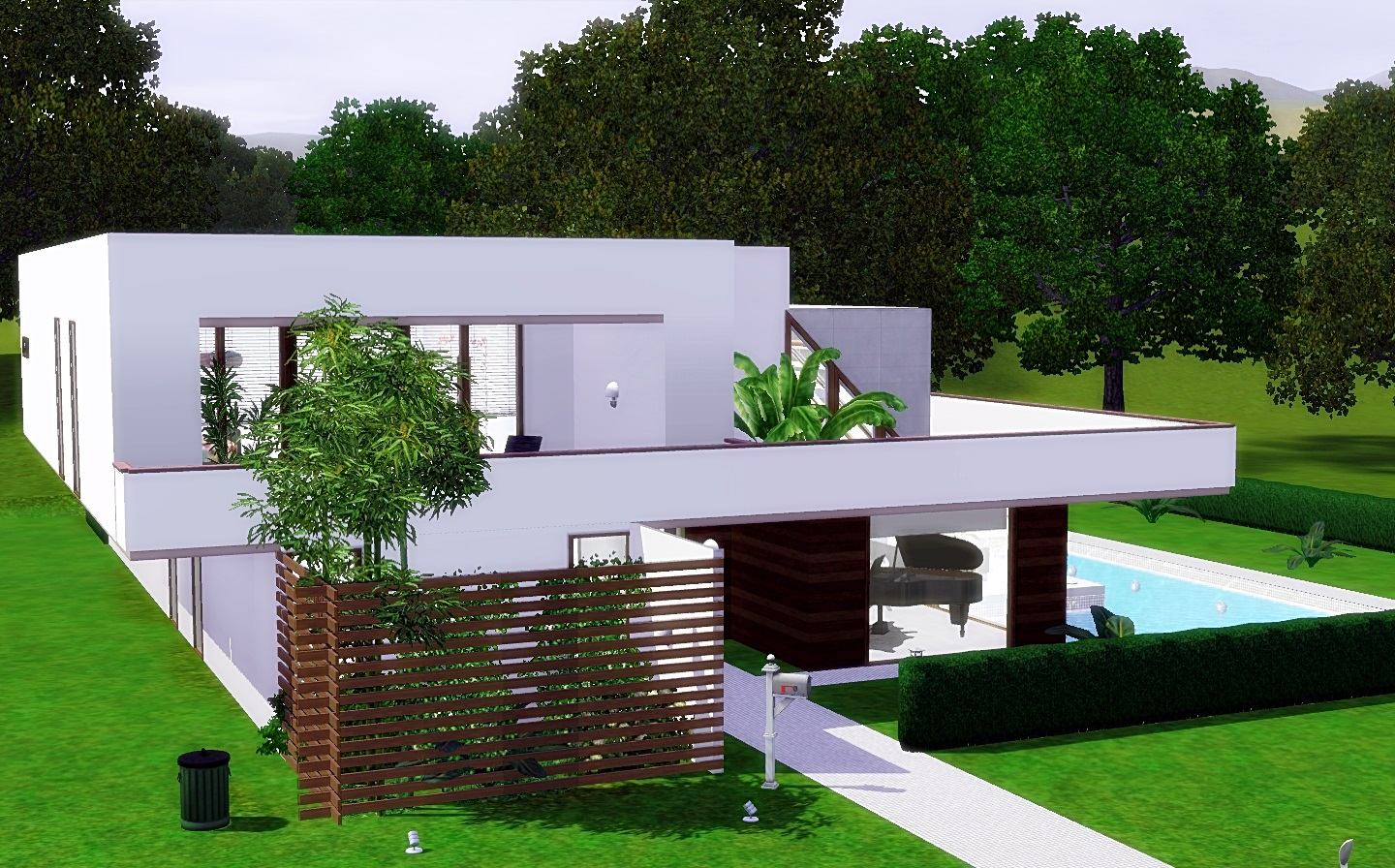 Sims 3 updates via sims modern cozy house by via sims
