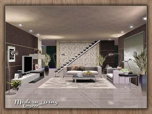 Awesome Sims 3 Wohnzimmer Modern Images - Ideas & Design ...