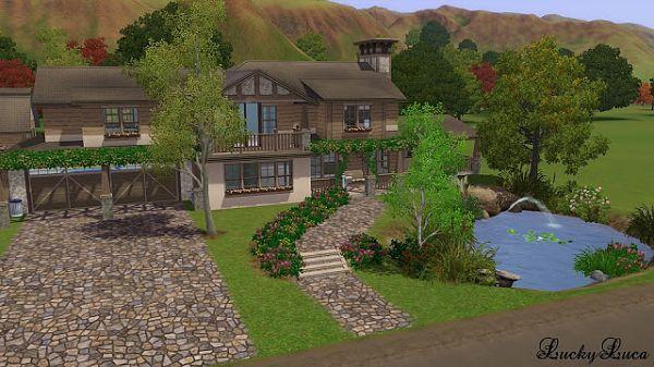 Симс 3 как сделать дом гостиницей