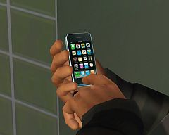 Sims 3 apple, iPhone, smartphone, electronics