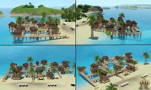 Sims 3 как сделать курорт