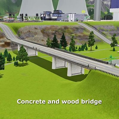 Sims 3 Updates - Simming in Magnificent Style: Concrete and wood ...