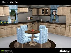 Sims 3 kitchen, furniture, sims