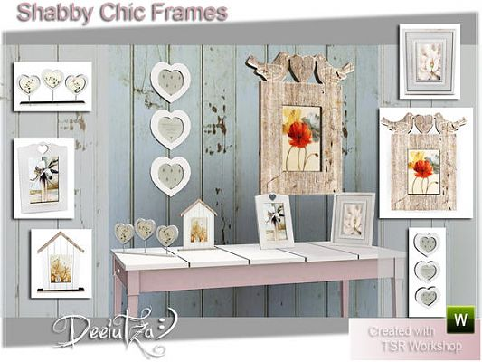 Sims 3 frames, decor, objects
