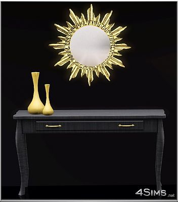 Sims 3 mirrors, set, objects, decor, sun