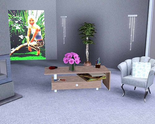 Sims 3 tables, coffee, furniture